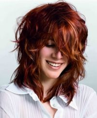 Medium Shaggy Hairstyles for Women | hairstyles newest hairstyle trends medium wavy layered hairstyles ...