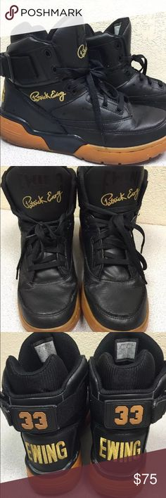 Patrick Ewing 33 Hi Men's High Top Trainers Patrick Ewing 33 Hi basketball high top shoes. Size 10 1/2 Ewing Athletics Shoes Athletic Shoes