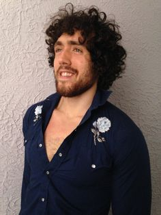 70's Vintage Men's Embroidered Western Shirt by PaisleyBabylon, $38.00