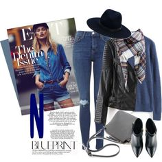 Denim by genuine-people on Polyvore featuring polyvore, fashion, style, Kim Kwang, rag & bone, women's clothing, women's fashion, women, female and woman