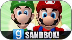 Gmod Sandbox Funny Moments: Giant Mario, Extreme Danger, Worst Map, Zoid...