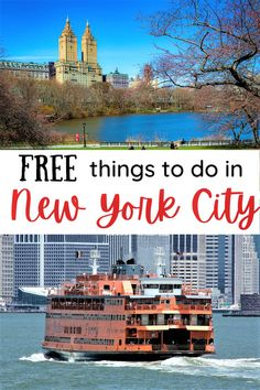 Yes, New York City is one of the most expensive destinations in the world. But it is possible to visit the big Apple on a budget. A lot of the top things to do in NYC are actually free, or really cheap. Here's the NYC budget travel guide! #NYC #budgettravel #USA #NewYorkCity Nyc Hotels, Travel Guides, Travel Tips, New York City Travel, Free Things To Do, Budget Travel, Travel Around The World, Cool Places To Visit, Travel Usa
