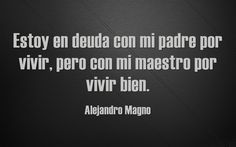 Alejandro Magno Cards Against Humanity, Thoughts, Truths, Alexander The Great, Famous Quotes, Teachers' Day, Beads, Qoutes Of Life, Ideas