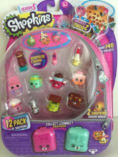 Shopkins Season 5 Set With 2 Charms Gift Playground Craze Years for sale online Little Girl Closet, Little Girl Toys, Toys For Girls, Kids Toys, Shopkins Game, Shopkins Season 5, Lol Dolls, Barbie Dolls, Kids Art Storage