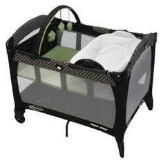 Graco Reversible Napper and Changer - Pack-n-Play Playard - Hudson    Need for the living room for afternoon naps and hanging out with koko and smores