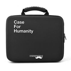 Collectible Trading Card Gameplay Accessories - CaseStache Case for Humanity Card Game Case Extra Large  Black >>> You can find out more details at the link of the image.