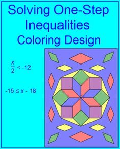 108 Best Geometry And Algebra 1 Coloring Activities Images On