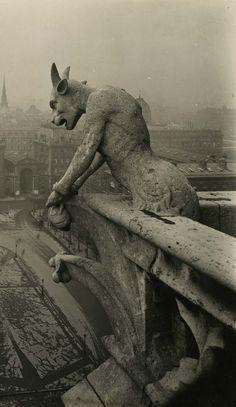 Notre-Dame Paris circa 1920 Pierre-Yves Petit (Yvon)