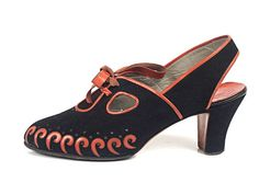 CHAUSSURES - Années 40                                                       …