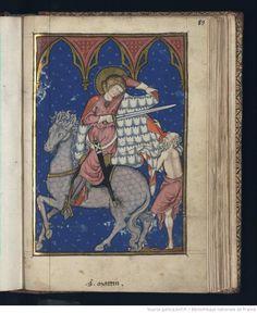 Images de la vie du Christ et des saints. Type : manuscrit Langue :Français  Droits : domaine public Identifiant : ark:/12148/btv1b72000827