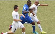 Vídeo del Gol de Diego Godin Uruguay 1 Italia 0