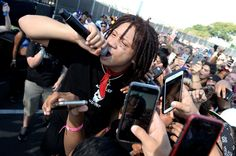 Trippie Redd Talks Lil Wayne Co-sign & Why He Hates Being Called A Mumble Rapper Trippy Iphone Wallpaper, Trippie Redd, Lil Wayne, News Songs, Rapper, Eye Candy, How To Make Money, Hate, Hip Hop