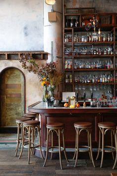 san francisco bar photographed by leslie santarina. / sfgirlbybay