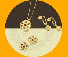 ☀️ Con su color cálido y luminoso 🔆, estas joyas doradas siempre favorecen a la mujer que las luce con un estilo elegante. Gold Jewellery, Warm Colors, Classy Style, Silver Jewellery, Sheet Metal, Silhouettes, Earrings, Pendants, Gold