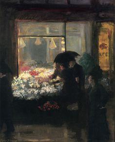John Sloan (American, 1871-1951) - Easter Eve, 1907