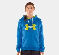 Women's Armour® Fleece Storm Big Logo Hoody Under Armour US $54.99