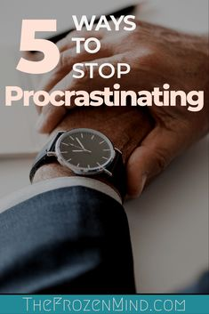 Severe procrastination can make things seem so out of control and can lead to physical and mental health issues. Use these tips to start getting things done Mental Health Issues, Mental Health Awareness, Self Development, Personal Development, Time Management Skills, Mental Illness, Chronic Illness, Chronic Pain, How To Stop Procrastinating