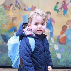 A escola do filho de Kate Middleton e príncipe William segue a linha montessoriana. Conheça!