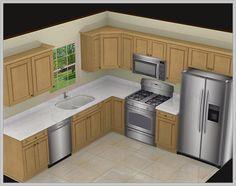 Resultado De Imagen Para Turkish Kitchen Designs  Decorating Adorable 10X10 Kitchen Designs With Island Design Ideas