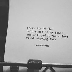 #prose #poetsofinstagram #igwriting #instapoet #poetry #wordsofinstagram #poetsofig #poet #poetryofinstagram #poetryofig #writingofig#artofig #artofinstagram #prose #communityofwriters #mywritings #mywork #poetrycommunity #tumblr #tumblrpoetry #tumblrwritings #instapoems #smithcorona #typewriter #ecorona