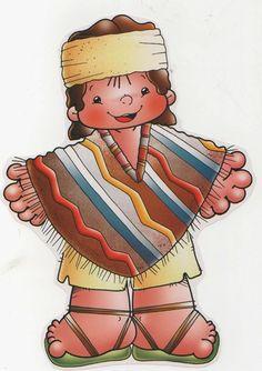 Busco - imagenes : Dibujos Bailes Chile, cueca, jota, Sau Sau, etc