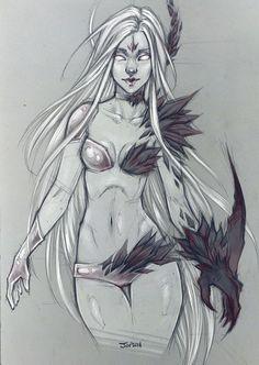Sketch by sashajoe on DeviantArt