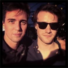 Jamie Muscato and Hugh Skinner. Possibly the hardest choice I've had to make for a faceclaim. Joly's!!!
