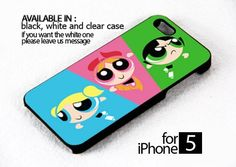 AJ 234 Powerpuff Girls - iPhone 5 Case | FixCenter - Accessories on ArtFire
