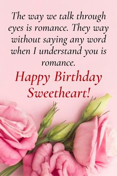 Loveliest happy birthday wishes for your wife. Tell her how much you love her with these lovely wishes and messages. Birthday Wishes For Wife, Wishes For You, Romantic Quotes, Understanding Yourself, Love Her, Messages, Words, Text Posts