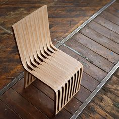 Slice cafe and dining chair by Graypants design