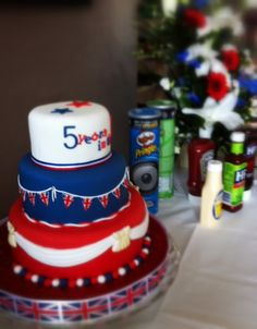Union Jack Cake For Team GB Olympics Cake