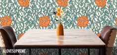 A Love Supreme - Robin Sprong Surface Designer Of Wallpaper, Designer Wallpaper, A Love Supreme, Off The Wall, Surface Design, Robin, How To Draw Hands, Colours, The Originals