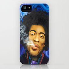 The Purple Haze iPhone & iPod Case by Lauri Loewenberg - $35.00