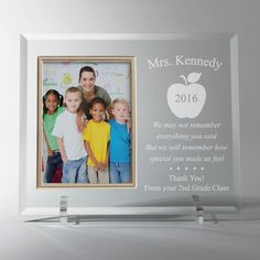 The perfect personalized gift for that special teacher.