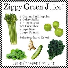 http://www.facebook.com/greenjuiceaday  Green Juice Recipe, excellent for beginners and any juice lover.