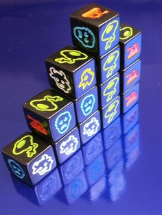 Martian Dice | Image | BoardGameGeek - Simple & easy game that is fun! :D