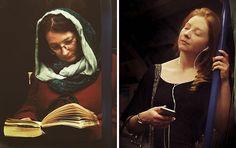 Guy Secretly Shoots Subway Passengers As 16th-Century Paintings