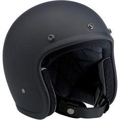 FLAT BLACK//PINK GMAX OF77 OPEN FACE HELMET M CLASSIC