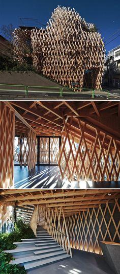 50 Exemples de l'incroyable Architecture japonaise moderne (26)