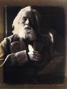 An 1864 photo by Julia Margaret Cameron of her husband, Charles Hay Cameron (1795-1881).