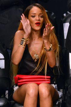 All-Star Appearance |  Rihanna cheered on the Brooklyn Nets at #Barclays Center on Saturday, May 4, 2013  http://celebhotspots.com/hotspot/?hotspotid=26375&next=1