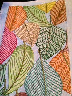 Print I eat ideas Fall Art Projects, Atelier D Art, Autumn Art, Leaf Art, Art Club, Art Plastique, Art Activities, Elementary Art, Teaching Art