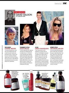 My glamour hair icons Pastel Dip Dye, Carlton Hair, Alice Dellal, Glamour Hair, Hair Icon, Chanel Resort, Linda Evangelista, Celebrity Style, Punk