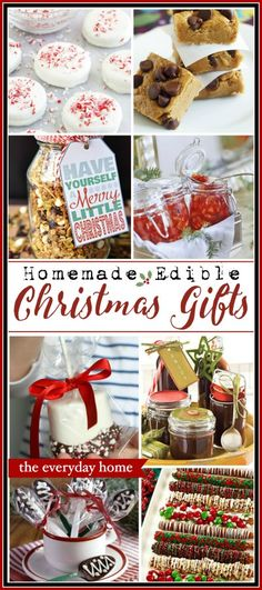 Easy Homemade Edible Christmas Gifts is part of Edible Christmas crafts - You don't have to spend a lot of money on Christmas gifts Plus, a homemade edible gift is much better These easy ideas will make you a Christmas Star! Easy Homemade Christmas Gifts, Christmas Treats For Gifts, Easy Homemade Gifts, Christmas Snacks, Xmas Food, Christmas Goodies, Christmas Baking, Diy Gifts, Christmas Ideas