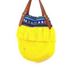 Elliot Mann : Elliot Mann, Tasche Indie Bag, gelb