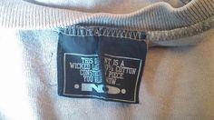 90's orginal New Deal T-Shirt Label Front