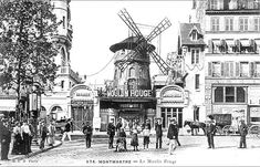 The date is 1889, and two businessmen, Joseph Oller and Charles Zidler, are planning a new venture. Impressed with the commercial success of the wildly popular dances at the Élysée Montmartre, the pair decided to open a rival dance hall in the run-down area of Pigalle. Even at their most optimistic they could not have imagined that the enterprise would become one of the most visited tourist attractions in Paris over a century later.