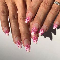Cute Manicure Ideas for Valentine's Day 2020 to try using SNS Dipping Powder – Beauty Underground Zebra Nails, Aycrlic Nails, Nail Swag, Gel Nagel Design, Fire Nails, Best Acrylic Nails, Dream Nails, Stylish Nails, Nagel Gel