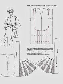 Skirt Patterns Sewing, Clothing Patterns, Patron Vintage, Modelista, Couture Sewing, Pattern Cutting, Pattern Making, Pattern Drafting, Fashion Sewing