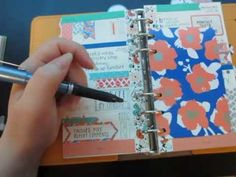 handwriting tips. tricks, and techniques to use in your filofax